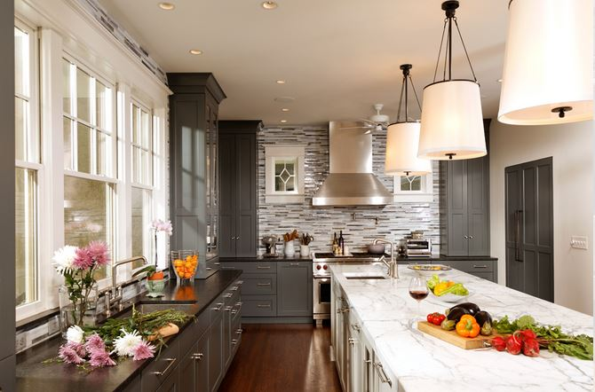 BLOG Transitional Greenfield Kitchen